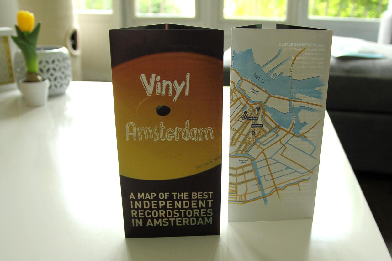 Vinyl Amsterdam flyer