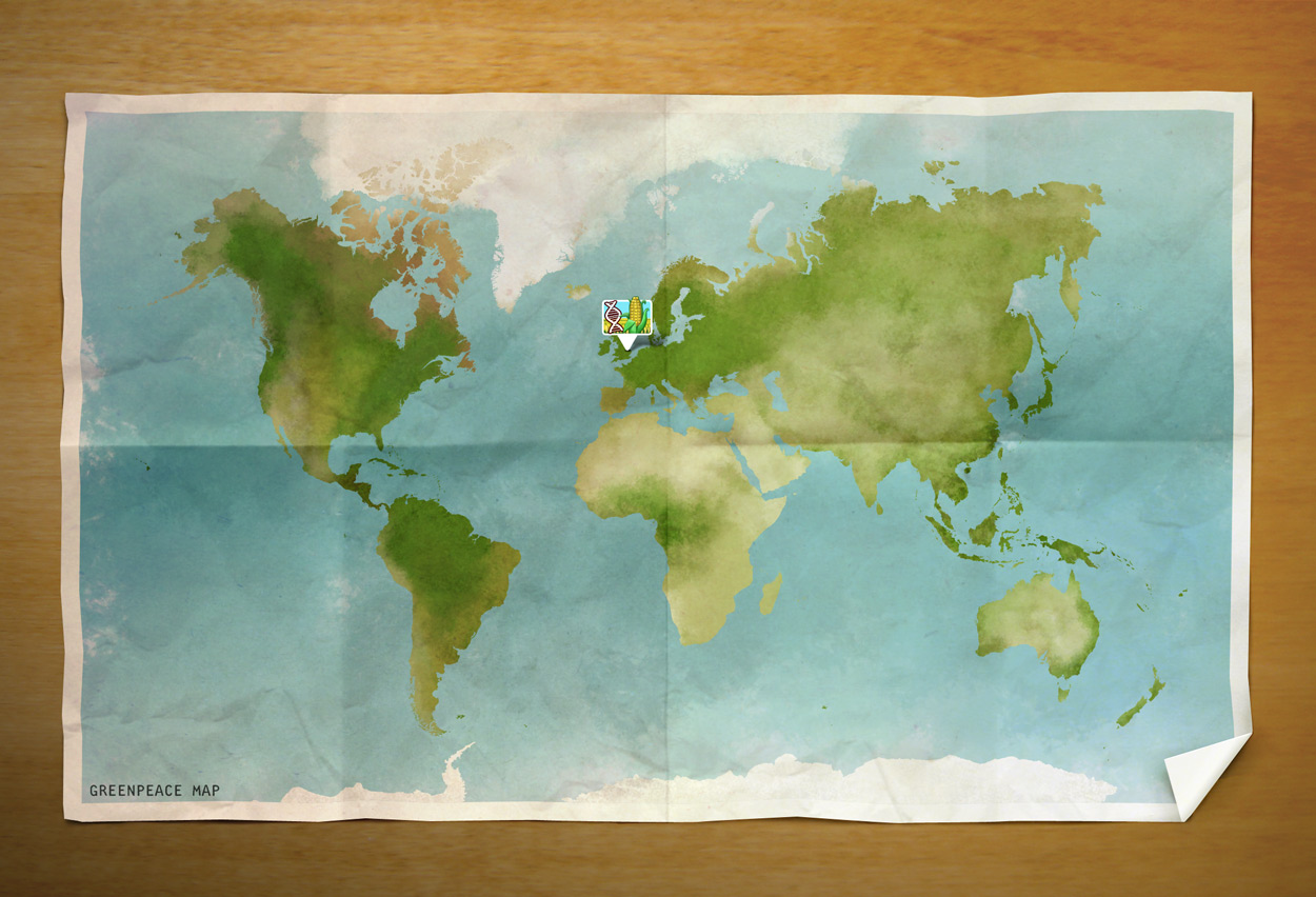 Greenpeace mission map