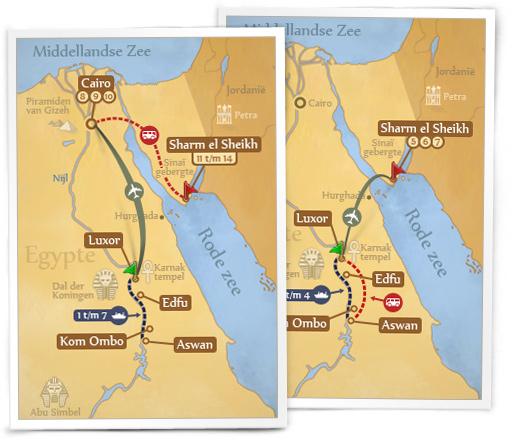 Egypt travelmap