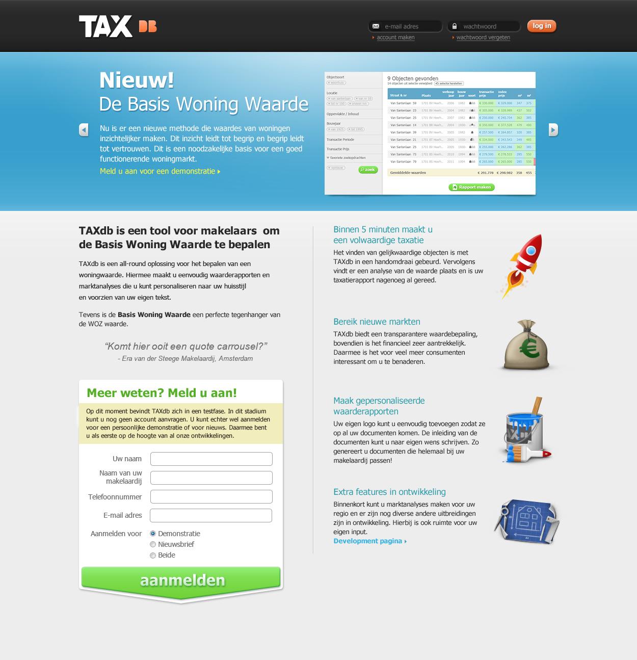 TAXdb home page