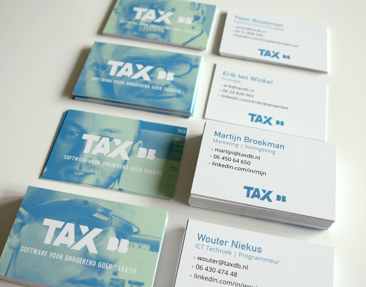 TAXdb business cards