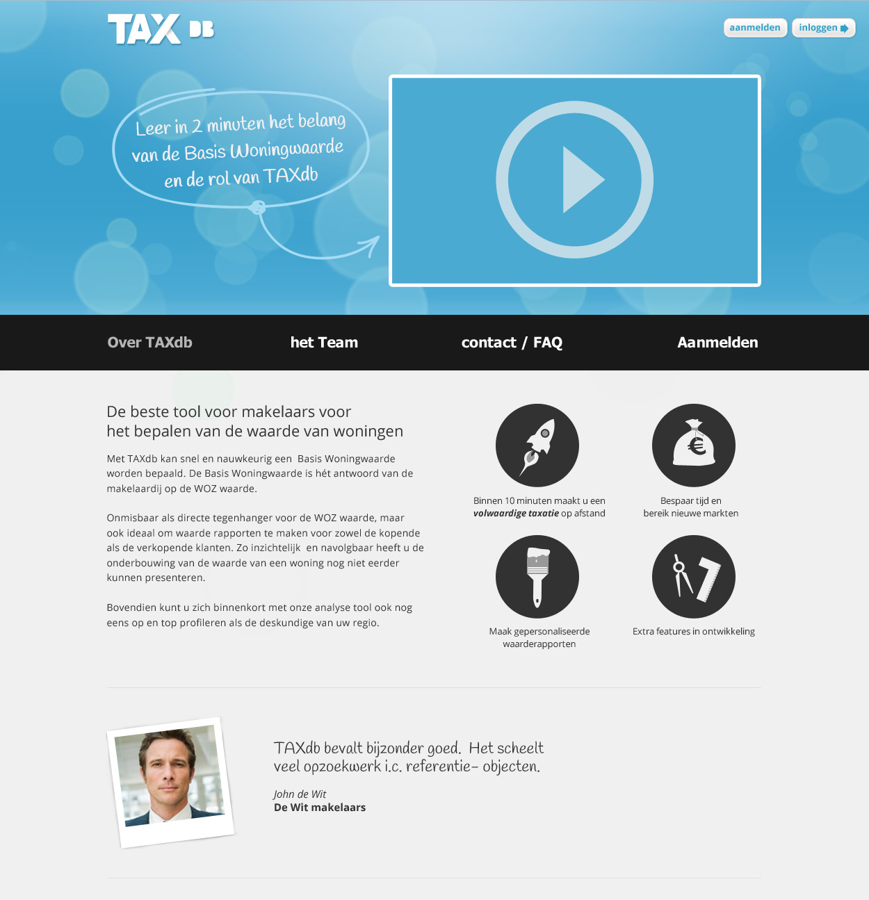 TAXdb home page version 2